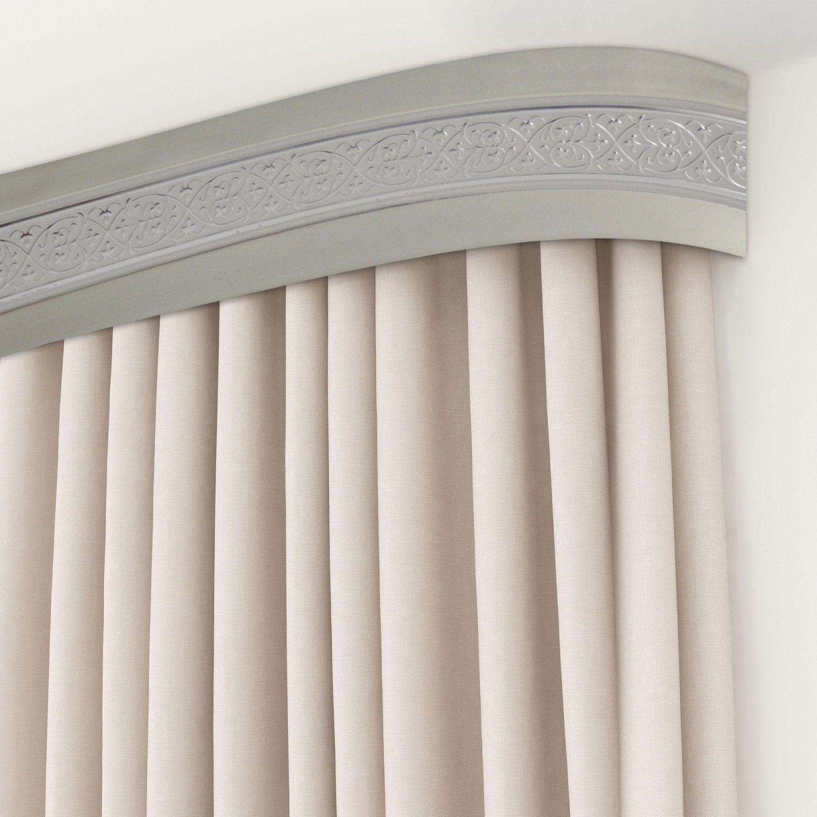 Карнизы для штор в спб потолочные фото