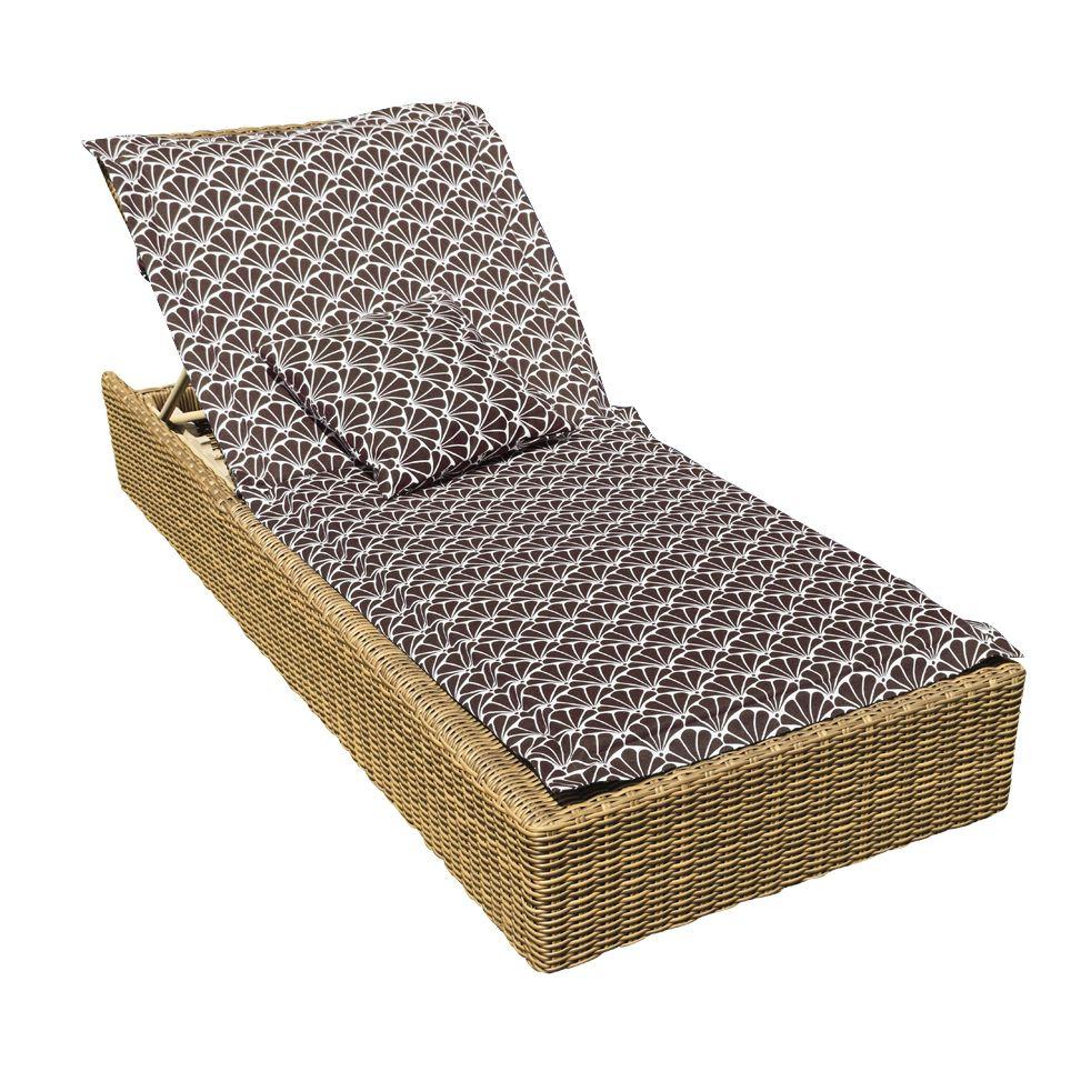 Подушка на шезлонг